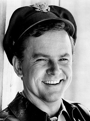 Bob Crane - Crane as Col. Hogan on Hogan's Heroes (circa 1969)