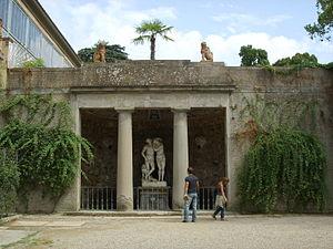 Michelangelo Naccherino - Grotto of Adam and Eve in Boboli Gardens