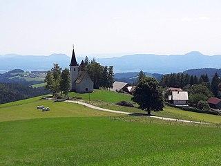 Bojtina Place in Styria, Slovenia