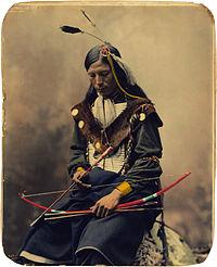 Bone Necklace, Oglala Sioux council chief, by Heyn Photo, 1899.jpg