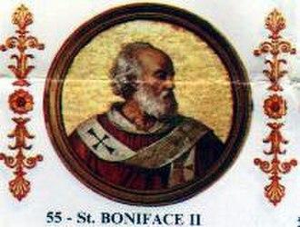 Pope Boniface II - Image: Boniface II
