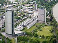 Bonn-Gronau Post Tower Schürmann-Bau Langer Eugen Luftaufnahme 2015-05.jpg