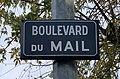 Boulevard du Mail (Belley), panneau de rue.jpg