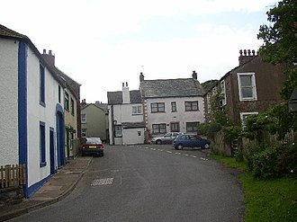 Bowness-on-Solway - Image: Bowness on Solway main street geograph.org.uk 40490