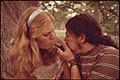 Boy and Girl Smoking Pot During an Outing in Cedar Woods near Leakey, Texas. (3703578055).jpg