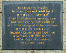 How did Robert Boyle discover his law (Boyle's Law)?
