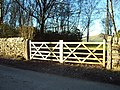 Brand new gate - geograph.org.uk - 331881.jpg