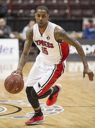 Brandon Robinson (basketball) - Robinson with the Express in 2016