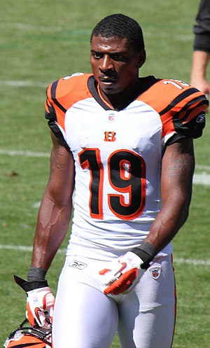 Brandon Tate - Tate with the Cincinnati Bengals in 2011