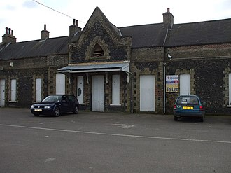 Walmington-on-Sea - Brandon railway station stood in for the station at Walmington-on-Sea