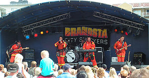 Brandsta City Släckers - Brandsta City Släckers on stage, 2006