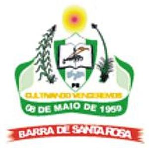 Barra de Santa Rosa - Image: Brasão Barra de Santa Rosa PB