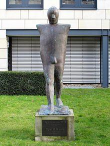 Harms Bremen agamemnon skulptur bremen
