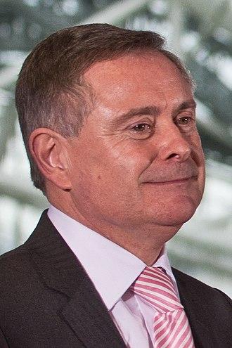 Next Irish general election - Image: Brendan Howlin Aviva (cropped)