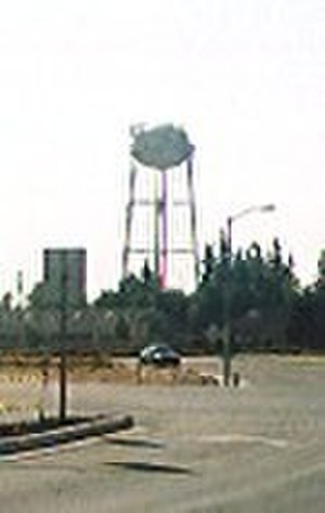 Brentwood, California - Original Brentwood water tower