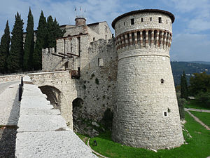 Brescia - The castle of Brescia.