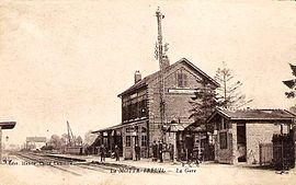 The railway station of Lamotte-Breuil