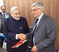 Brian Hayes meeting Indian Prime Minister Narendra Modi.jpg