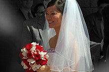 The Bride Head In Their 50