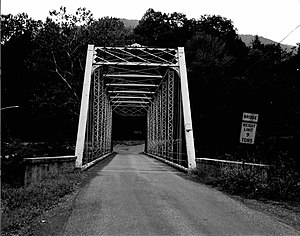 National Register of Historic Places listings in Lycoming County, Pennsylvania - Image: Bridge in Lewis Township, Lycoming County