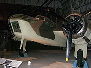 A Bristol Blenheim bomber at the RAF Museum, London