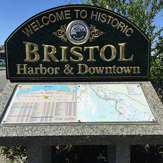 Bristol, Rhode Island - Image: Bristol Rhode Island sign