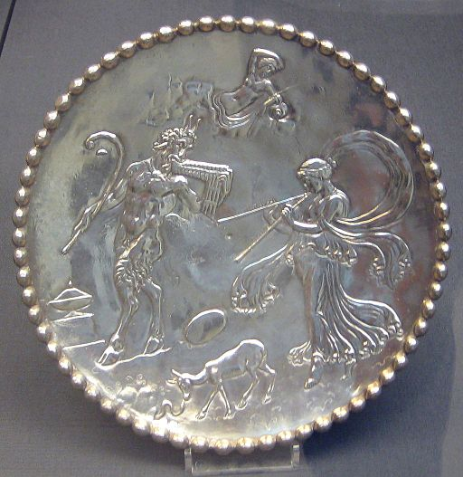 Mildenhall Treasure - Great Plate of Bacchus