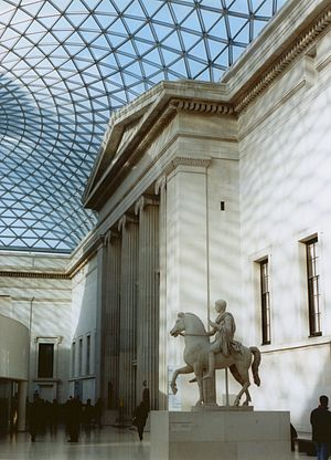 Queen Elizabeth II Great Court - Image: British Museum New Great Court