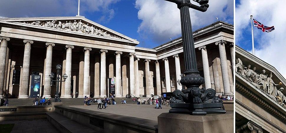 British Museum flag