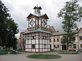 Brody City in Lviv Oblast, Ukraine
