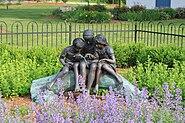 Bronze statue Cherry Hill School