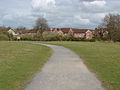 Brooklands Community Park footpath, 15 April 2013.jpg