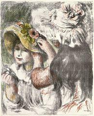 ''Pinning the Hat (Le Chapeau épinglé)''