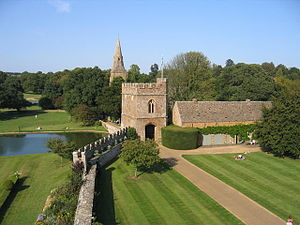 Broughton Castle - The Gatehouse