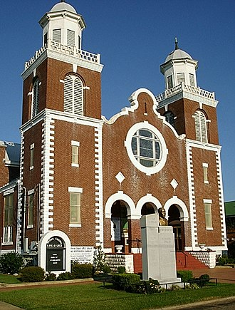 Alabama Register of Landmarks and Heritage - Brown Chapel AME Church in Selma, Alabama.  Listed in the Alabama Register of Landmarks and Heritage on June 16, 1976.  It is an example of a property that was subsequently listed in the National Register of Historic Places in 1982 and declared a National Historic Landmark in 1997.