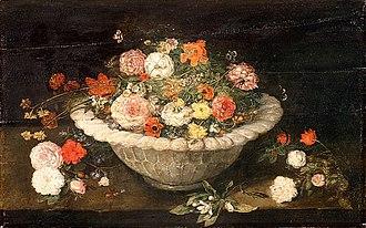 National Museum, Gdańsk - Image: Brueghel Bowl with flowers