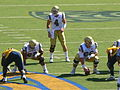 Bruins on offense at UCLA at Cal 2010-10-09 15.JPG