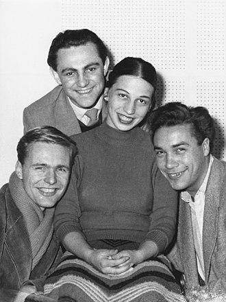 Helmut Griem - Helmut Griem (left) in 1954