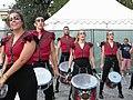 Bucuresti, Romania. Festivalul International de Teatru de Strada.13 Iulie- 5 August 2018. Formatia Batucada Timba (Spania) (3).jpg