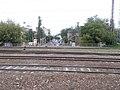 Budapest-Nyugati train station over Dózsa György Road, 2020 Terézváros.jpg