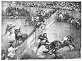Bullfight in a divided ring, from the 'Bulls of Bordeaux' MET 22ZZ BG040R2M.jpg