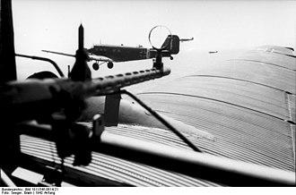Operation Flax - Image: Bundesarchiv Bild 101I 545 0614 21, Nordafrika, Flugzeug Junkers Ju 52 mit MG