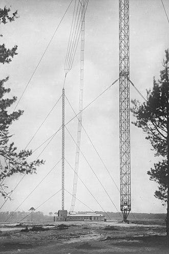 Deutschlandsender - Königs Wusterhausen Central Tower, 1931