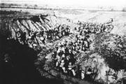 Bundesarchiv Bild 134-C1315, Tsingtau, Seesoldaten in Deckung