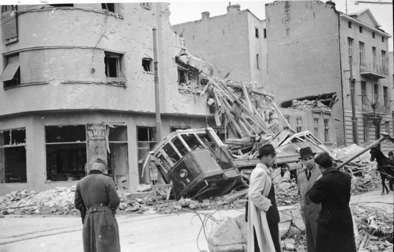 Bundesarchiv Bild 141-1005, Belgrad, Zerstörungen