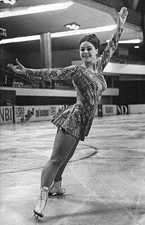 Gabriele Seyfert East German figure skater