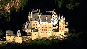 Eltz Castle - Castle Eltz, Aerial view