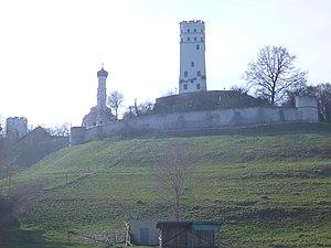 Biberbach, Bavaria - Image: Burg Markt Ostansicht 01