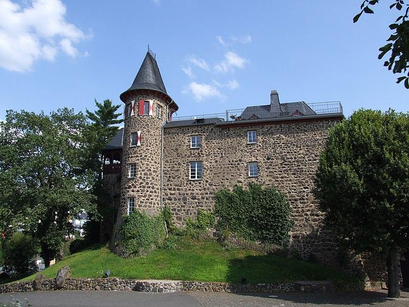 Burg Ockenfels von Norden