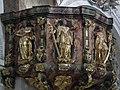 Burgusio-Burgeis, Abbazia di Monte Maria, pulpit 006.JPG